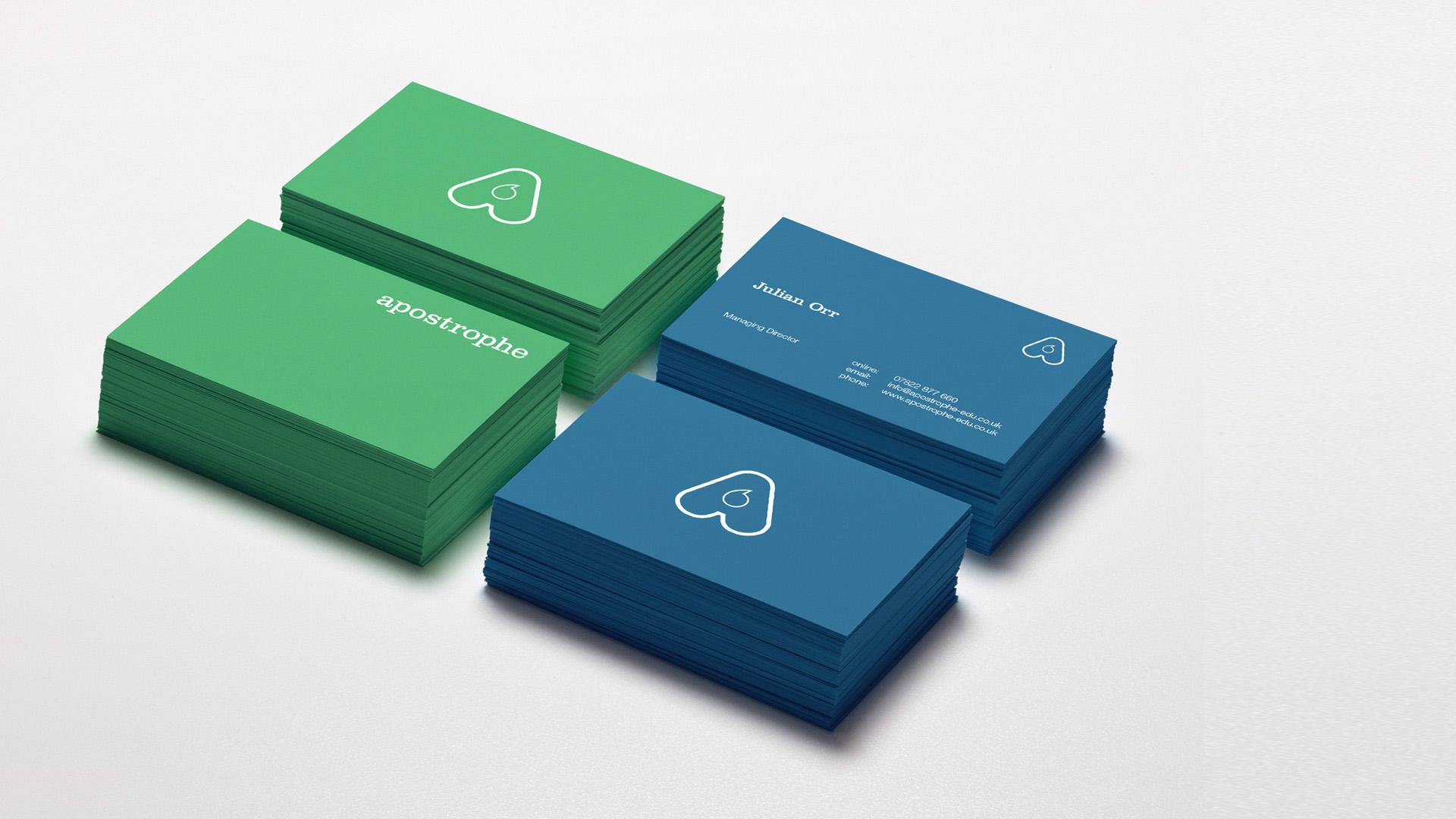 coloured card designs