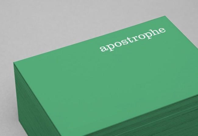 Apostrophe Identity