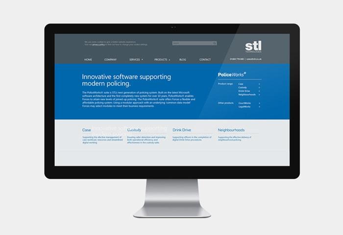 stl branding + website