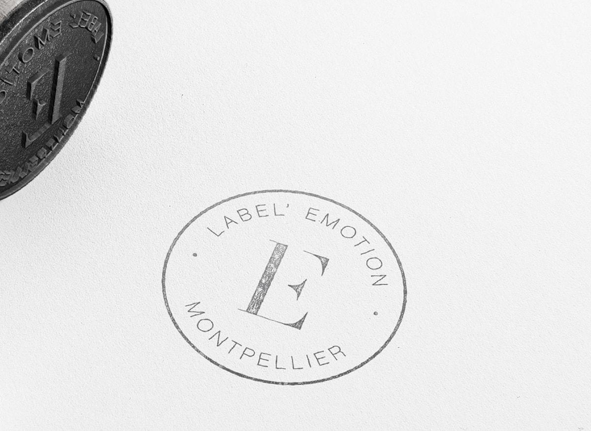 agency stamp design