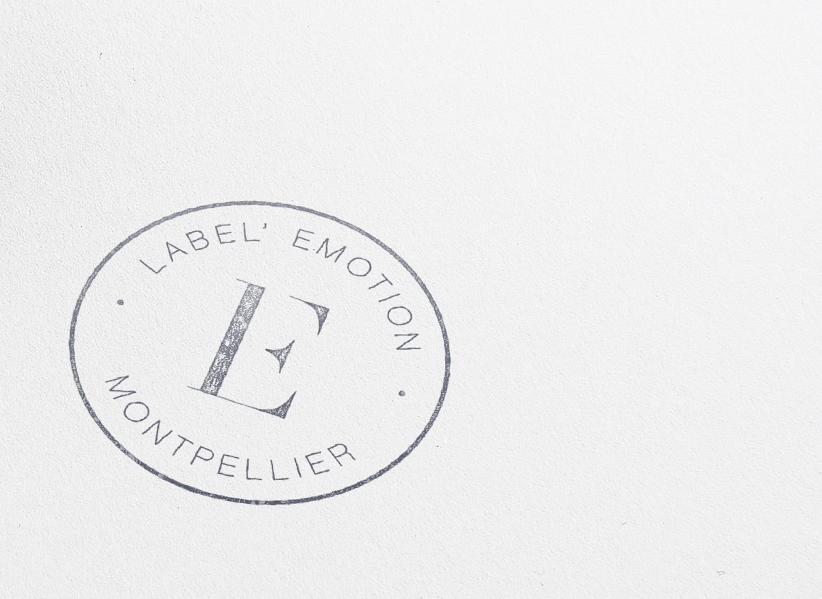 Agency ink stamp