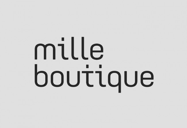 mille boutique identity