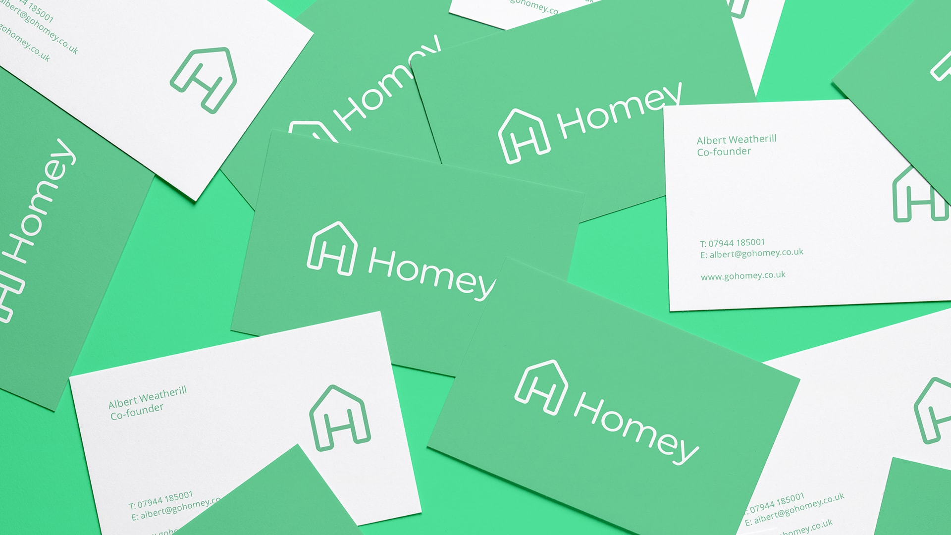 Homey business card design