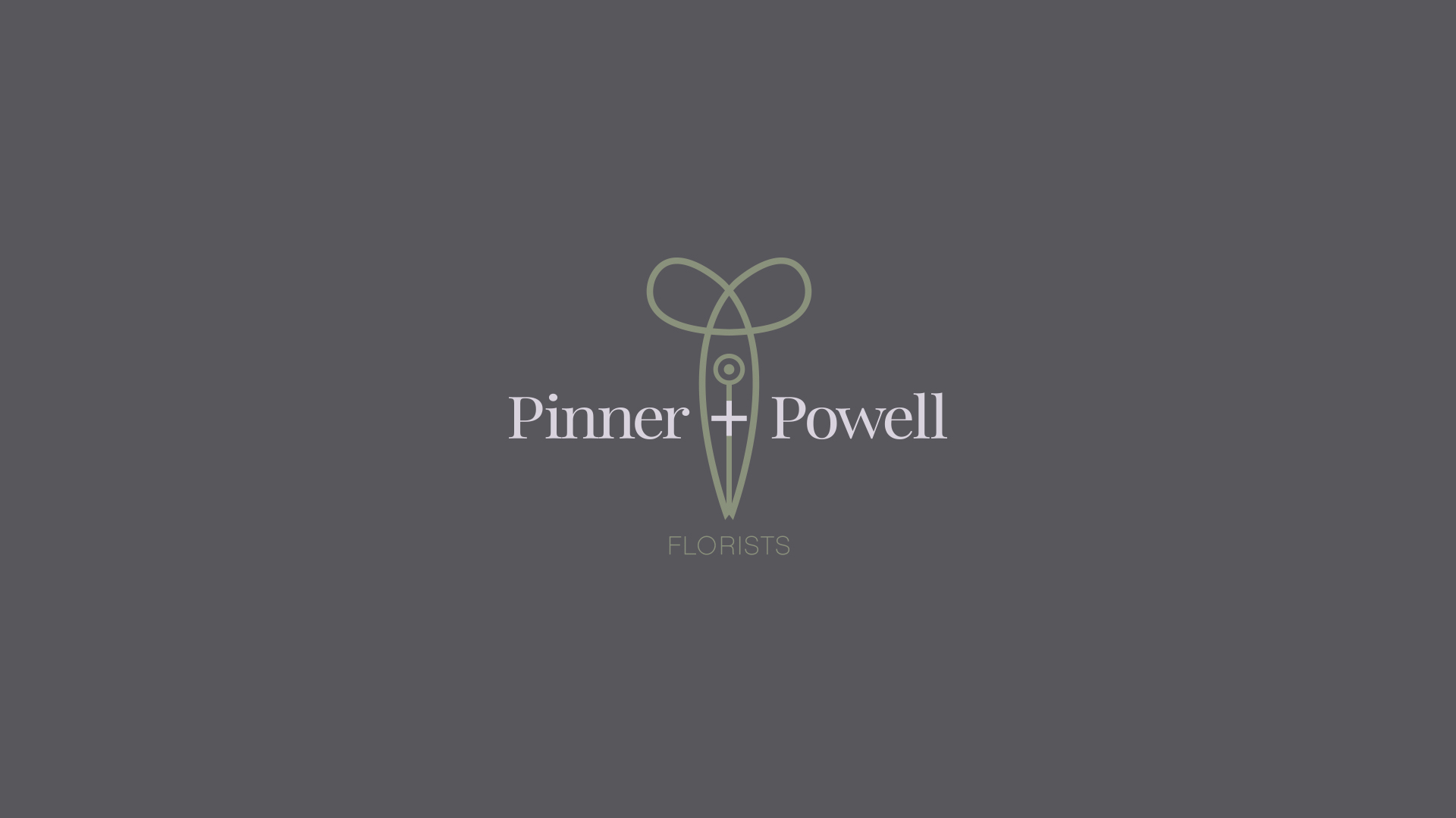 pinner powell logo design