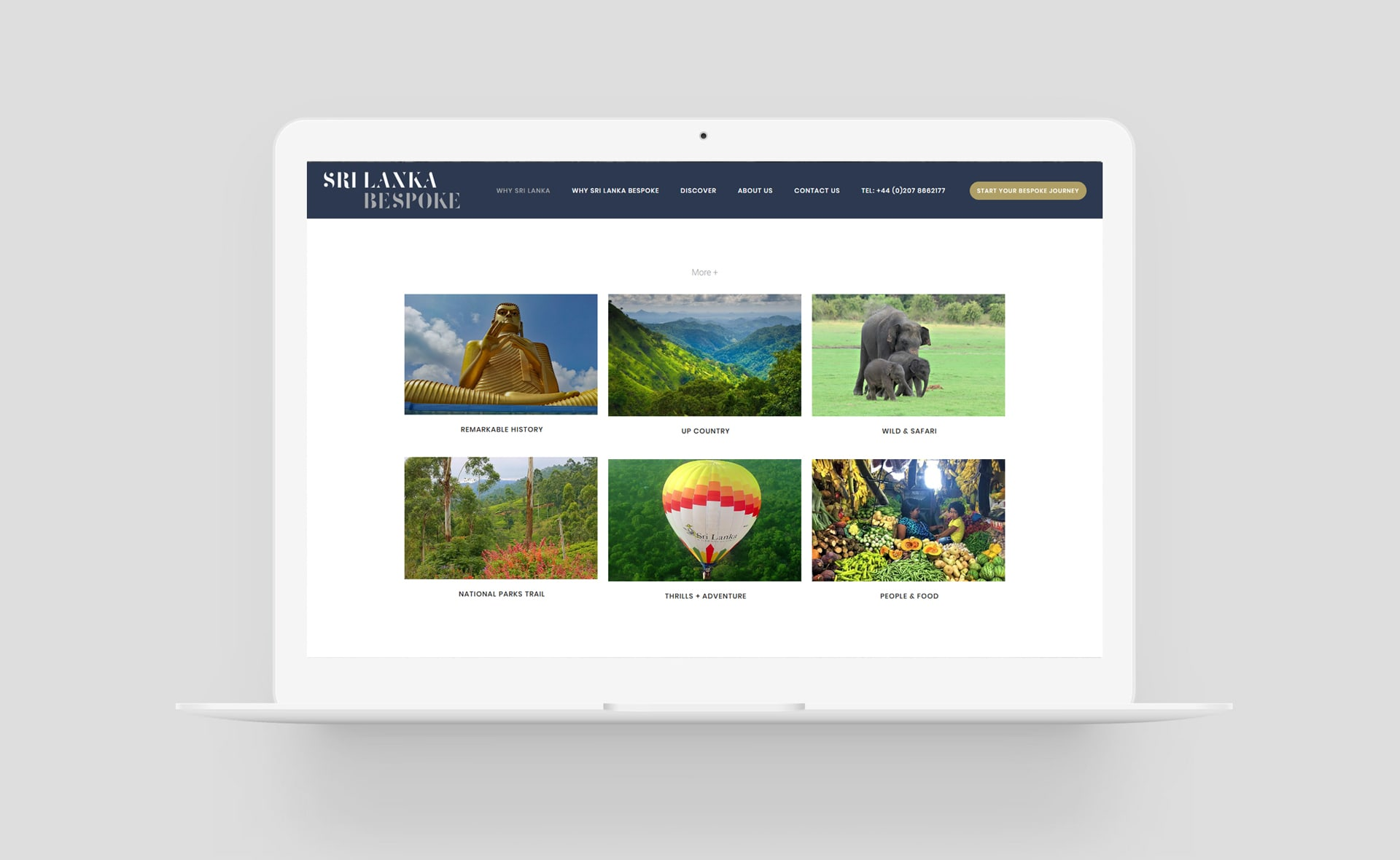 SLB travel website design