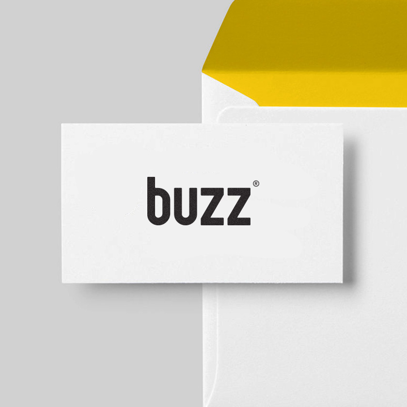 buzz logo design