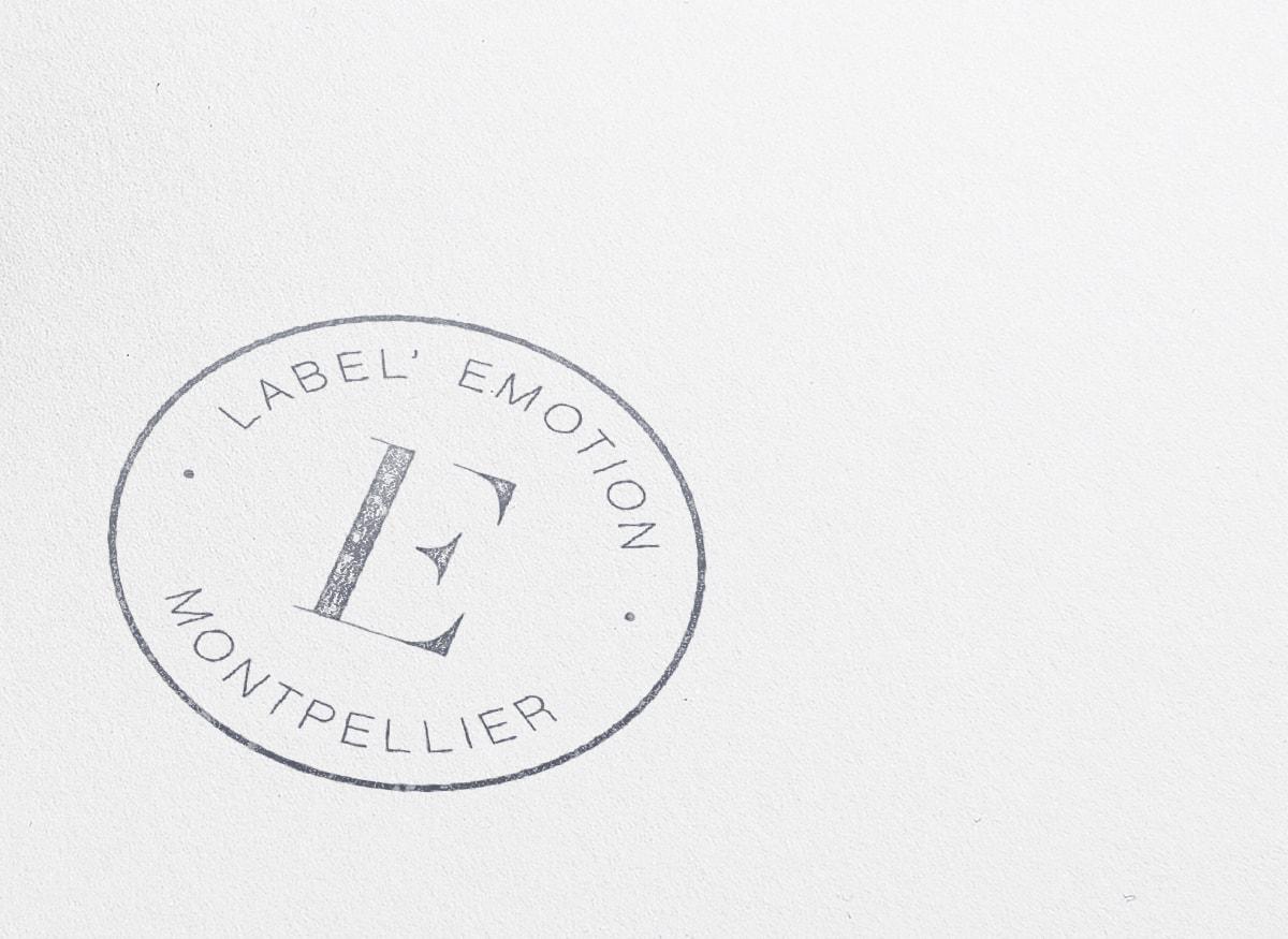 Agency ink stamp
