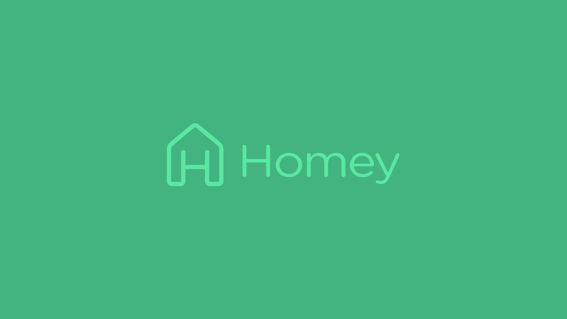 Homey logo design