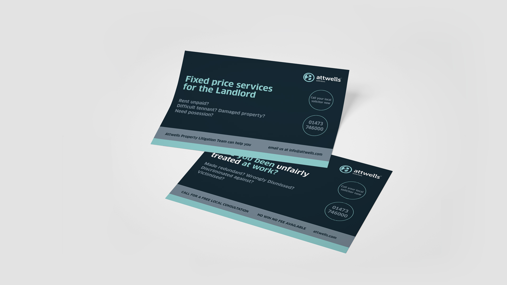 marketing leaflet design