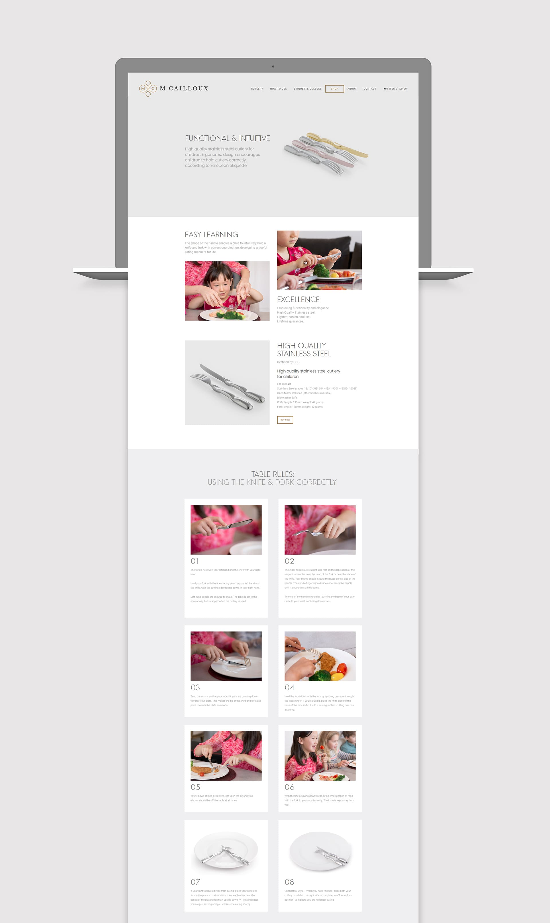 mcx website design