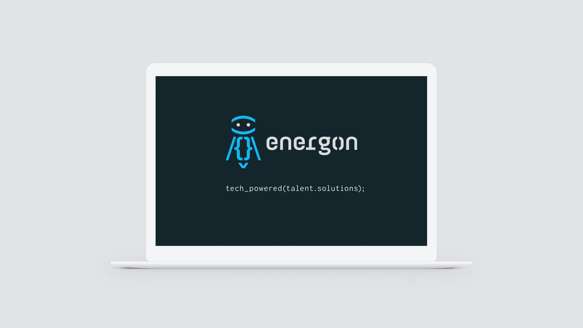 Energon re-brand - website