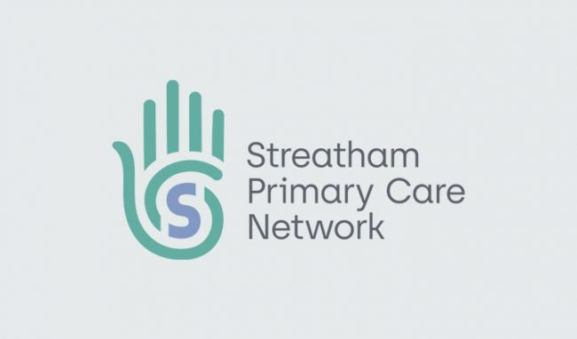 Streatham Health Care Logo design