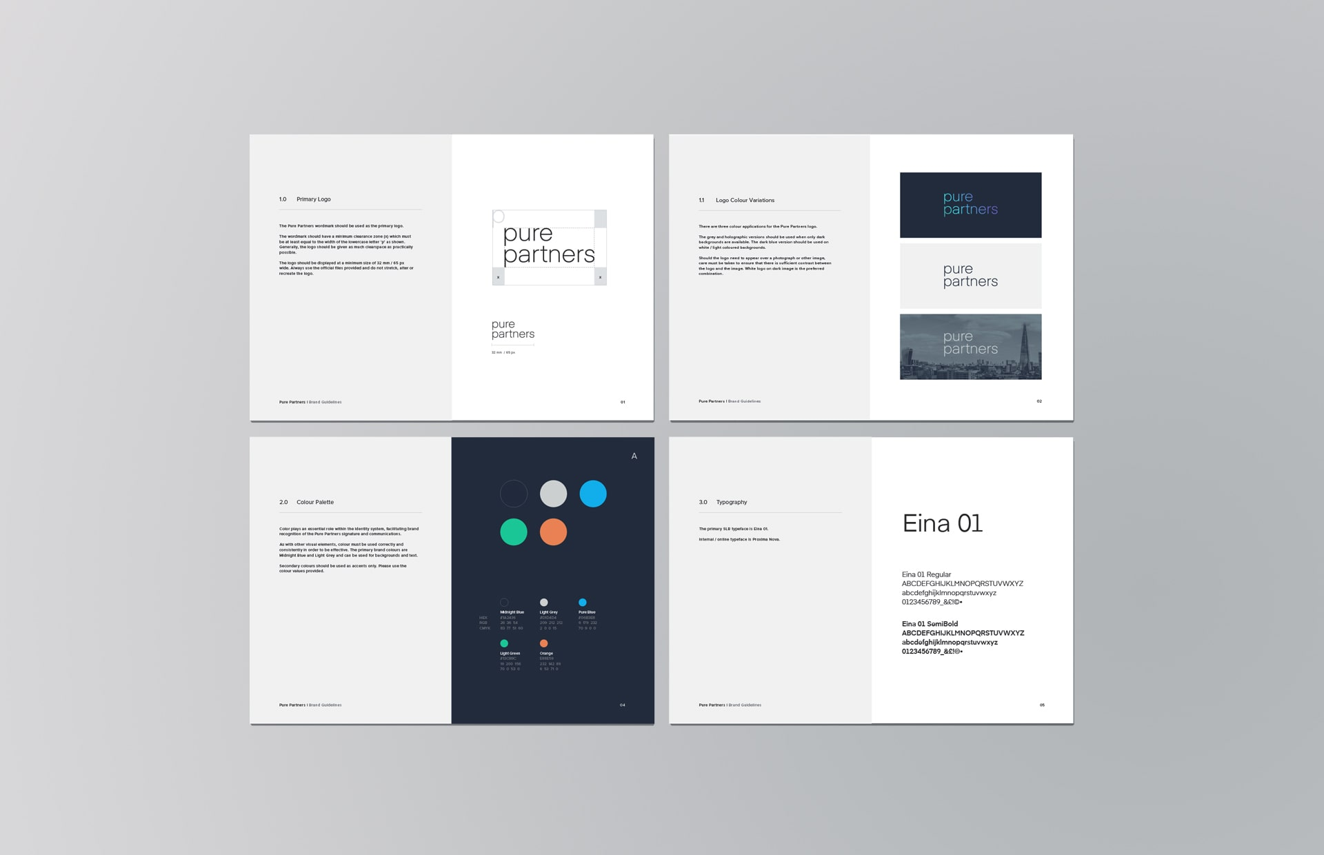 pure brand guidelines