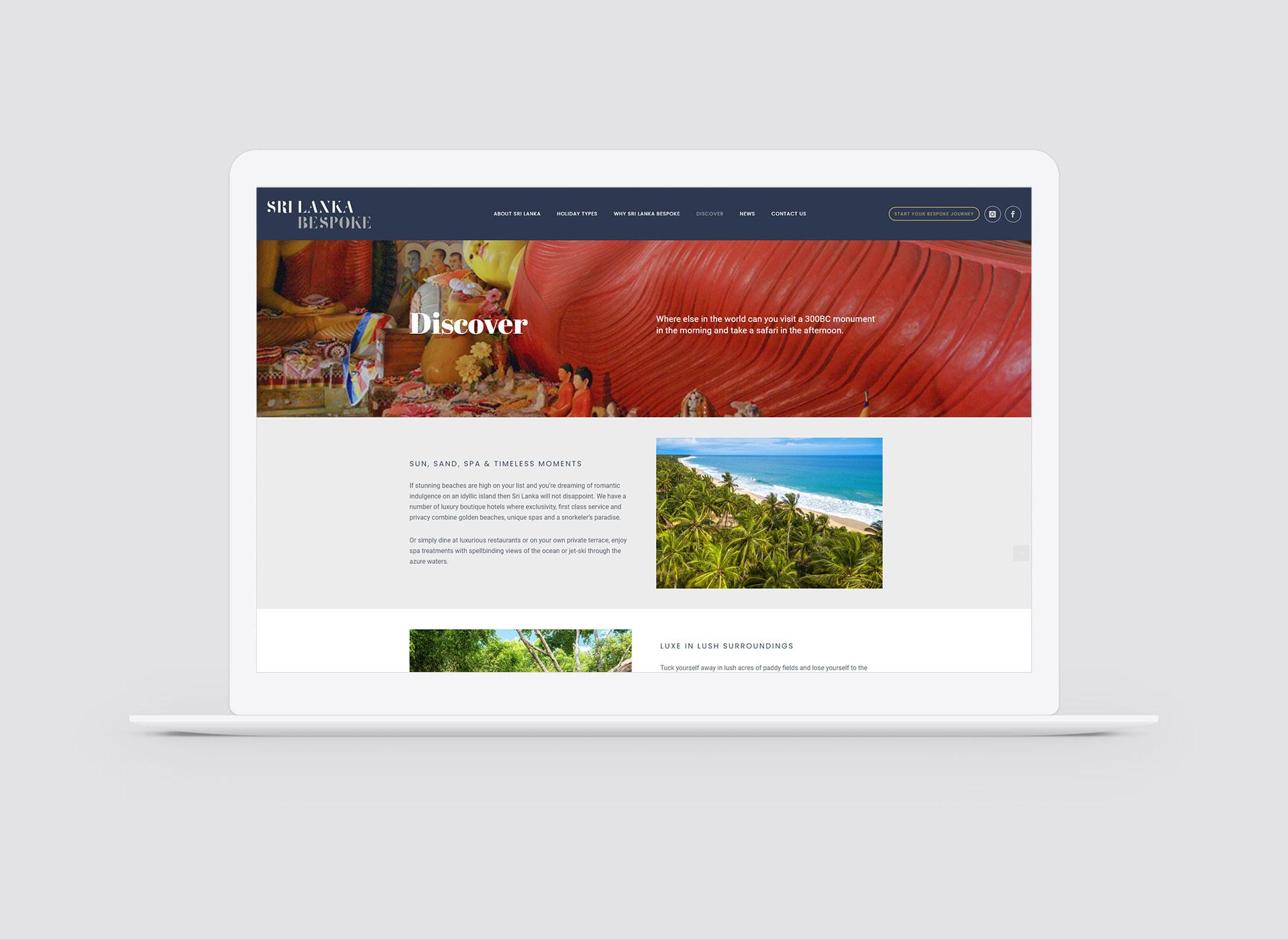 slb website design