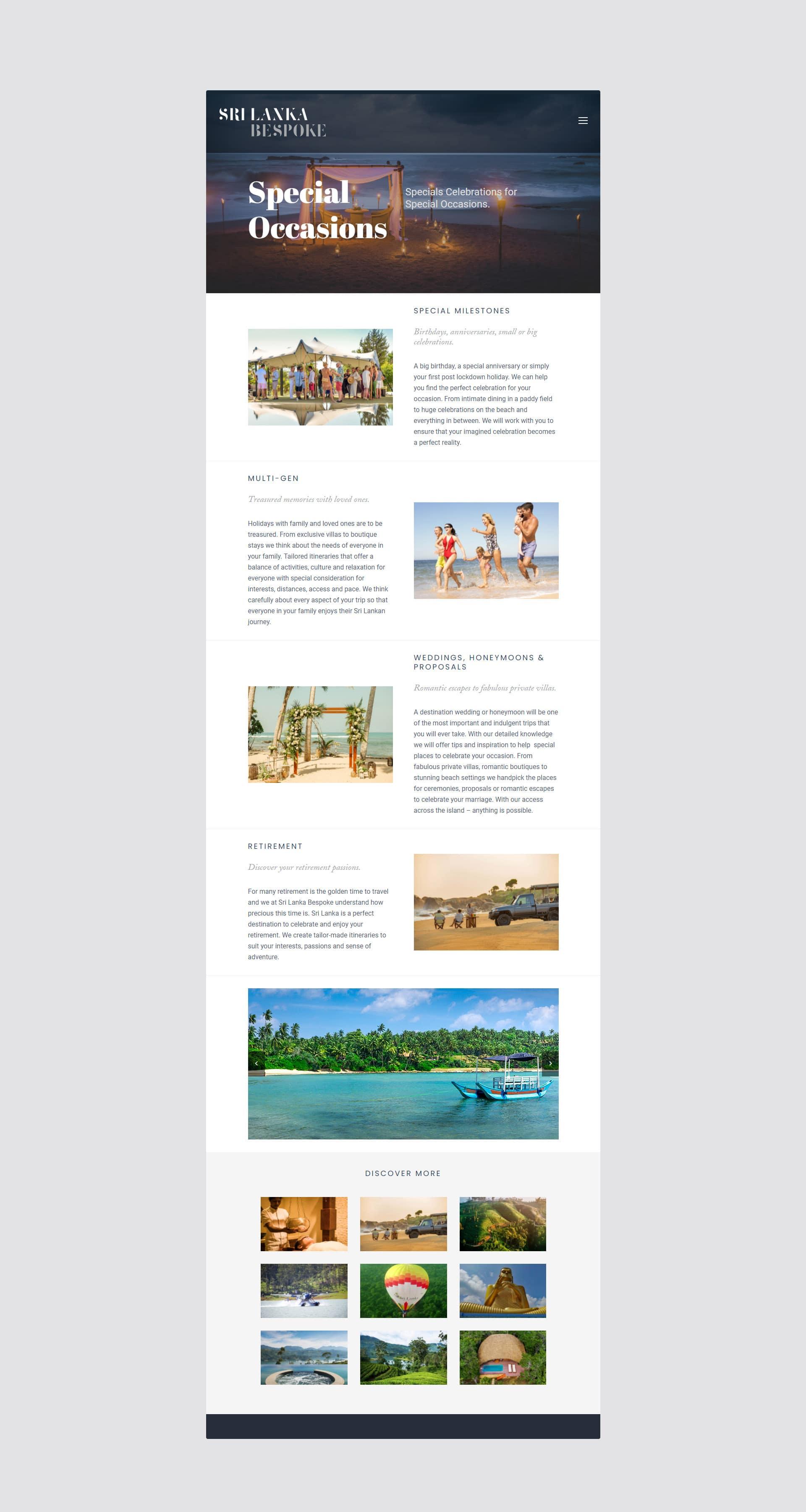 sri lanka bespoke website design