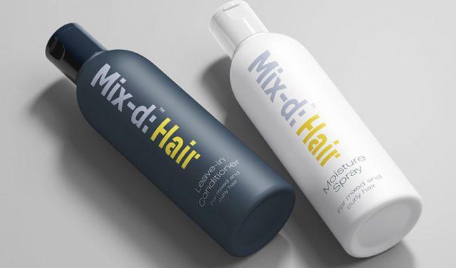 beauty product branding design
