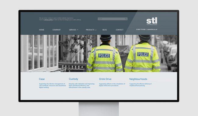 STL software website design